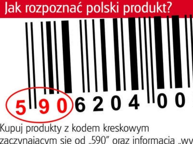 PATRIOTYZM GOSPODARCZY – KUPUJ MADE IN POLAND – KOD 590